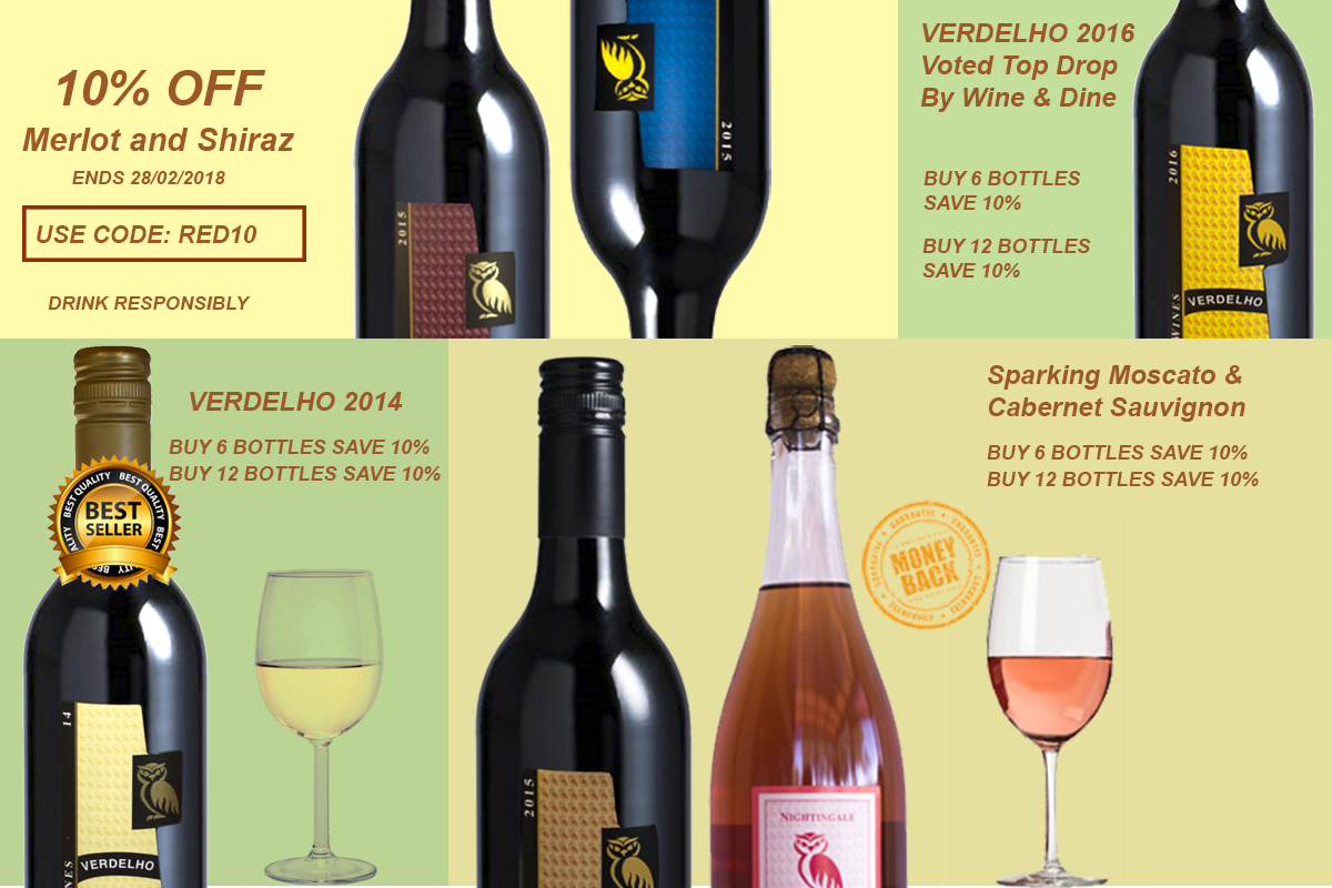 Nightingale Wines Online Sale Now On! – USE CODE: RED10