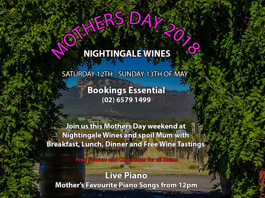 Mothers Day 2018 – Nightingale Wines