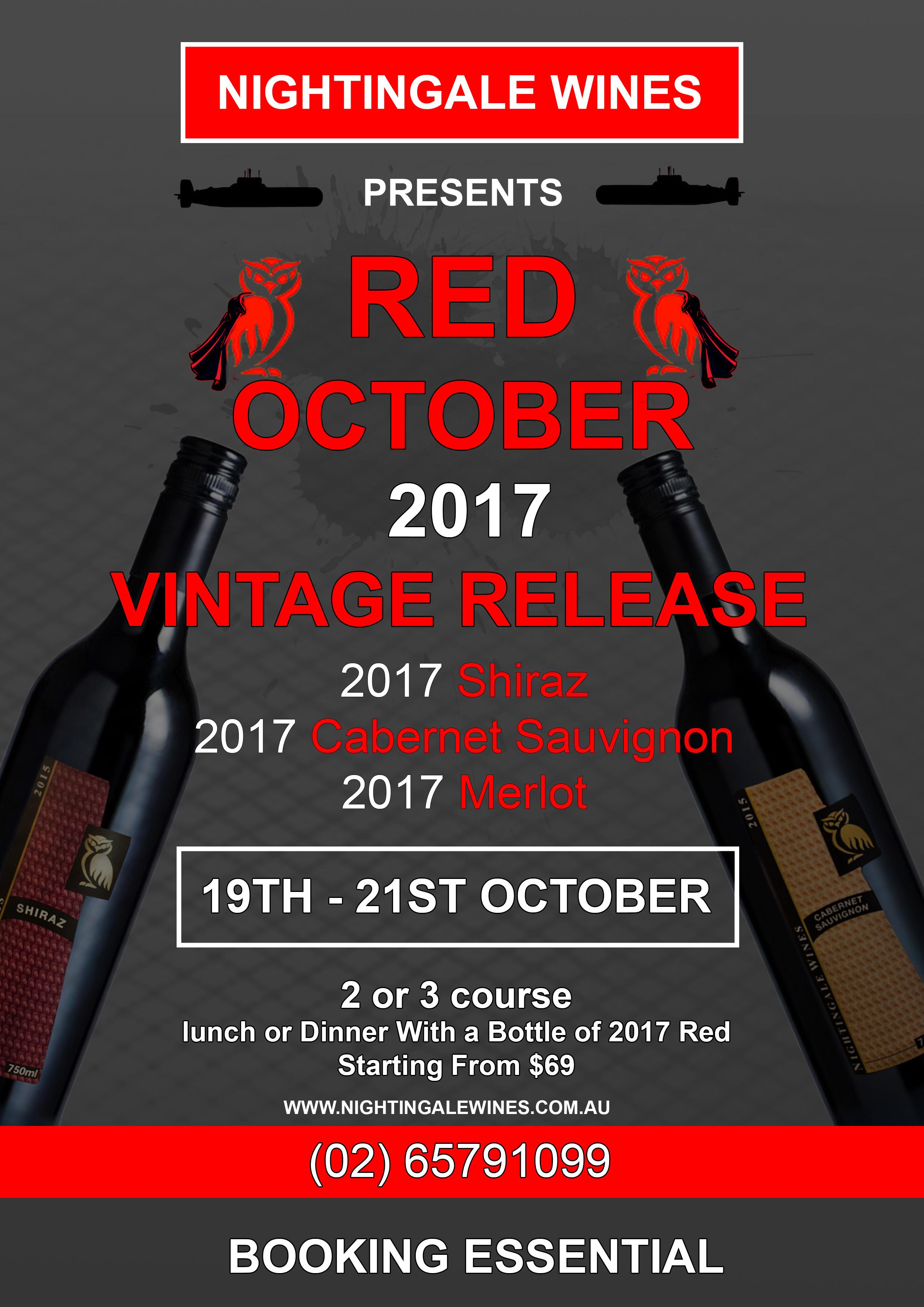 Red October 2017 Vintage Release
